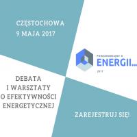 Banner Debata oraz warsztaty o efektywności energetycznej - Porozmawiajmy o Energii