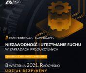 Konferencja Techniczna Axon Media w Radomsku! 8 września 2021